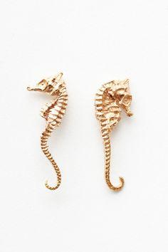 Dezso by Sara Beltran - seahorse earrings