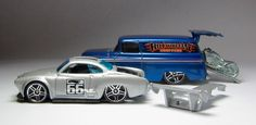 the Lamley Group: Will we ever see two Hot Wheels Mainlines again like Phil Riehlman's 2006 '55 Chevy Panel & Karmann Ghia?