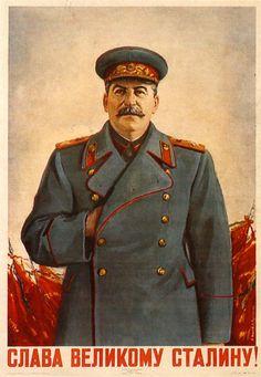 Znalezione obrazy dla zapytania stalin poster