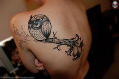 Owl #tattoo