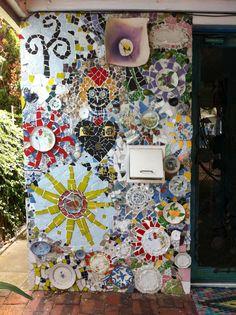 entrance Perth mosaic house
