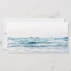 Funeral Thank You Note Grief Ocean Bereavement Grief, Funeral Thank You Notes, Thank You Photos, Professional Logo Design, Bereavement, Nature Scenes, Personal Photo, Text Color, White Elephant Gifts, Photo Cards