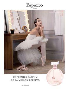 Ma nouvelle campagne pour le Premier Parfum Repetto ! L'égérie du parfum est la sublime Dorothée Gilbert, Danseuse Étoile de l'Opéra National de Paris. Photography by James Bort