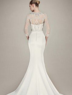 Enzoani 2016 Collection: Kacey - back view