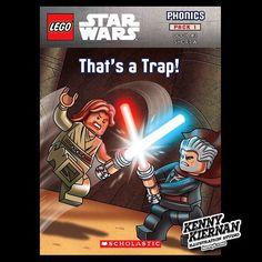 Lego Star Wars phonics workbook #starwars #lego #illustration #childrensillustration #childrensbook #kidlitart