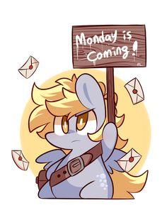 Monday is coming! by ILifeloser.deviantart.com on @deviantART