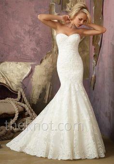 Quiero que mi vestido de novia sea así!
