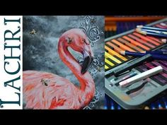 Derwent Inktense review and tutorial w/ Lachri - YouTube