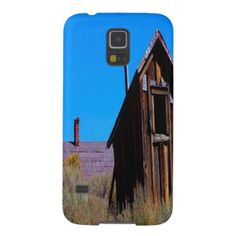 Old Barn Galaxy S5 Case A old barn with long grass around it. And a house top behind it. With a blue sky. This Samsung 5 Case looks great....
