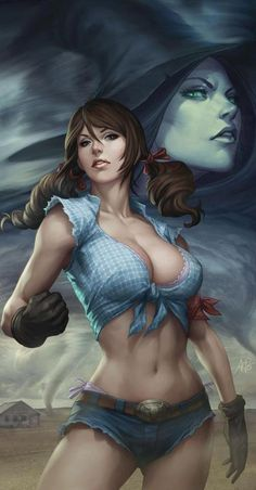 A Sexy spin on the Wizard of Oz by Zenescope Entertainment (Anthony Spay / Stanley Artgerm Lau)