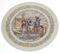Limoges Marquis de Lafayette Legacy Collection plate Baron de Kalb disembarks from his ship Victoire at North Island - CP1352 Limoges http://www.amazon.com/dp/B003ZVHWQG/ref=cm_sw_r_pi_dp_zAvjvb0VAQGBG