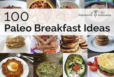 Paleo breakfast ideas and recipes to get your day started with a healthy meal.