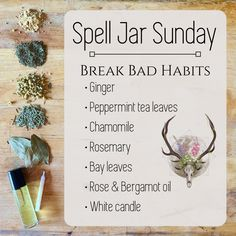 Witch Spell Book, Witchcraft Spell Books, Jar Spells, Wiccan Spells, Wicca Recipes, Good Luck Spells, Wiccan Magic, Witch Bottles, Witchcraft For Beginners