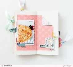Studio Calico, Crate Paper, Travel Journal Scrapbook, Travel Journals, Travel Books, Diary Writing, Travel Sketchbook, Journal Inspiration, Creative Inspiration