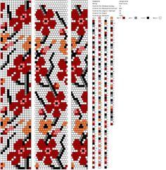 14 around bead crochet rope pattern Bead Crochet Patterns, Bead Crochet Rope, Beaded Jewelry Patterns, Crochet Bracelet, Peyote Patterns, Beading Patterns, Beaded Crochet, Bead Jewellery, Seed Bead Jewelry