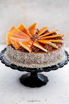 Tort Dobosa Food Cakes, Cupcake Cakes, Classic Desserts, Food Decoration, Cake Flavors, Homemade Cakes, Cakes And More, Pavlova, Let Them Eat Cake