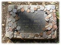 Leaving a penny at the grave means simply that you visited. A nickel indicates that you & the deceased trained at boot camp together,while a dime means you served with him in some capacity. By leaving a quarter at the grave, you are telling the family that you were with the solider when he was killed. According to tradition, the money left at graves in national cemeteries & state veterans cemeteries is eventually collected, & the funds are put toward maintaining the cemeteries.