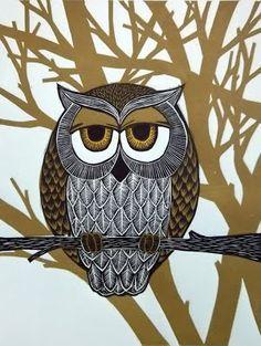 'Owl' by Cristina Mayo