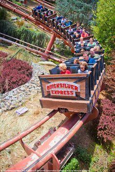 Roller Coaster Fun At Gilroy Gardens Theme Park. Come Visit And Enjoy A  Ride!