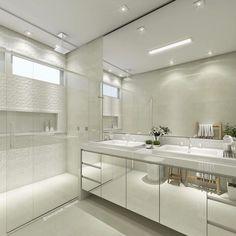 Portas espelho amplitude banho