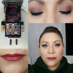 Simple makeup look.