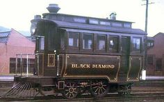 """""""Presidents engine"""", There is only one survivor of the type. the Reading Railroad's """"Black Diamond"""". at the National Transportation Museum in St. Louis."""