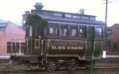"Reading Railroad's ""Black Diamond""."