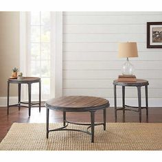 Alessa 3 Piece Occasional Table Set