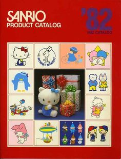 You Will Want Everything From This 1982 Sanrio Catalog (≧∇≦)
