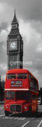 London Red Bus London Red Bus, Door Posters, Big Ben, Doors, Building, Slim, Buildings, Doorway, Architectural Engineering