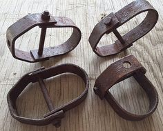 Heavy Metal Lot of 4  Salvage Industrial by HighDesertRust on Etsy