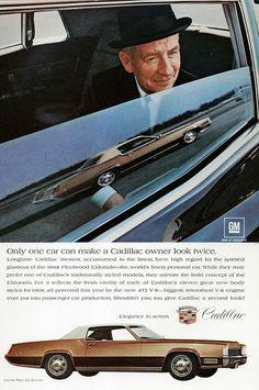 1968 Cadillac Fleetwood Eldorado Ad