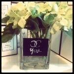 "Chanel ""CC YOU"" Vase $20 Plus flat fee shipping www.bougiesdeluxe.com.au"