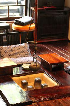 my room of the Japanese‐style hotel Japanese House, Japanese Style, Irori, Chen, Japanese Lifestyle, Kumamoto, Japanese Interior, Japanese Architecture, Japan Fashion