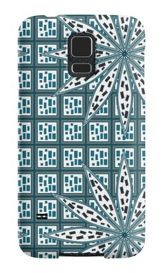 Strange floral pattern by cocodes #SamsungGalaxy case #redbubble http://www.redbubble.com/people/cocodes/works/21686900-strange-floral-pattern?p=samsung-galaxy-case