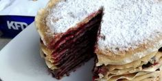 Snickersowy tort naleśnikowy