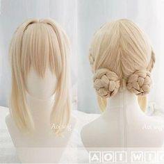 #Spring #AdoreWe #YesStyle - #Satako Violet Everlasting Garden Violet Evergarden Cosplay Wig - AdoreWe.com