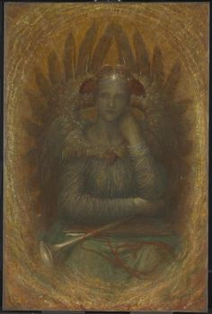 George Frederic Watts 'The Dweller in the Innermost', c.1885–6