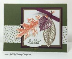 Ink Big Academy: Vintage Leaves - Six Sided Sampler - Leaflets Framelits - Into the Woods DSP