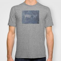 Abstract Sugar and Buford T-shirt by Robert Lee - $18.00 #art #graphic #design #iphone #ipod #ipad #galaxy #s4 #s5 #s6 #case #cover #skin #colors #mug #bag #pillow #stationery #apple #mac #laptop #sweat #shirt #tank #top #clothing #clothes #hoody #kids #children #boys #girls #men #women #ladies #lines #love #horse #donkey #sugar #silver #buford #light #home #office #style #fashion #accessory #for #her #him #gift #want #need #love #print #canvas #framed #Robert #S. #Lee