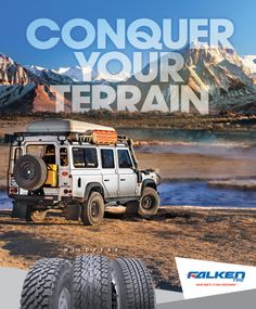 Overland Journal Magazine Advertising, Conquer Your Terrain