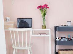 Нежные пудрово-розовые оттенки в интерьерах созданы краской #Tikkurila