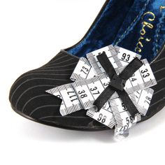 adding a quirky detail to shoes - Tapetastic By Irregular Choice