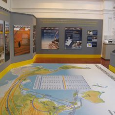 National Geographic Exhibit at Museum of Man in San Diego Includes Floor Graphics on Avery Graphics Vinyl!