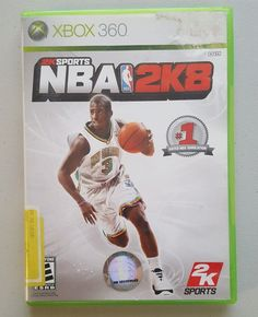 NBA 2K8 (Microsoft Xbox 360, 2007) in Video Games & Consoles, Video Games | eBay