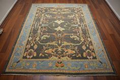 147 On Sale* New Anatolian Turkish Rug OUSHAK 5.7×7.2**172×220 ushak