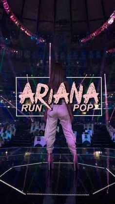 Ariana runs pop
