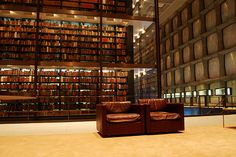 Beinecke Rare Books Library at Yale