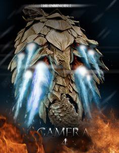 Gamera fan-made cover by Ucaliptic.deviantart.com on @deviantART