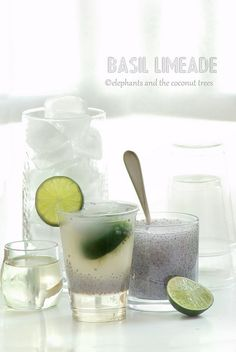 Basil seeds Limeade   .  .   .    .    Basil seed is known to cool the body making it ideal for summer. #FNDish #SummerSoiree #Foodnetwork #Summerdrink #Limeade